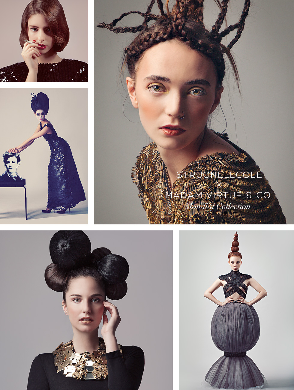 strugnellcole hairdressing, hair styling, madam virtue & co