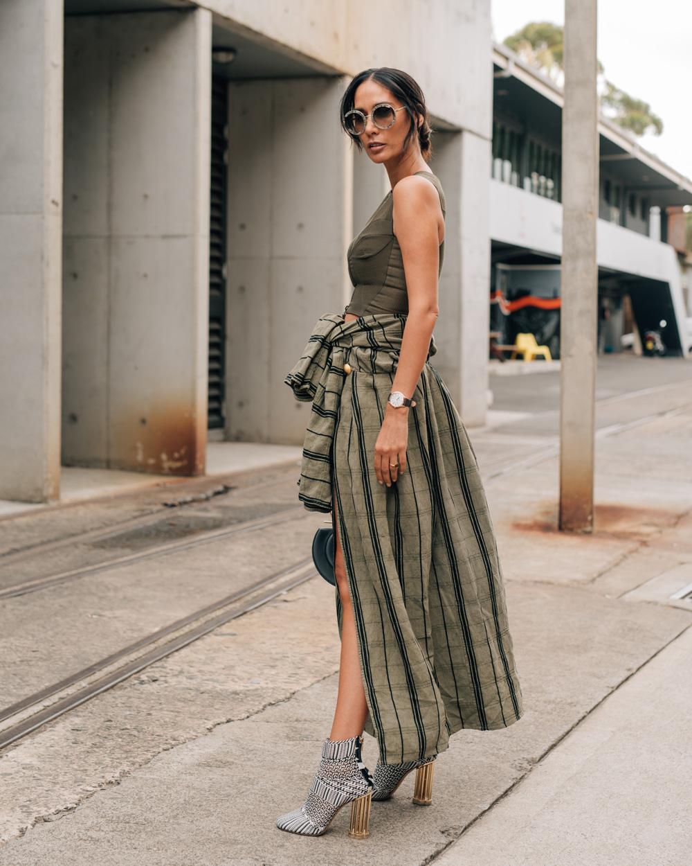 Fashion week Street mbfwa style day 4 for girls