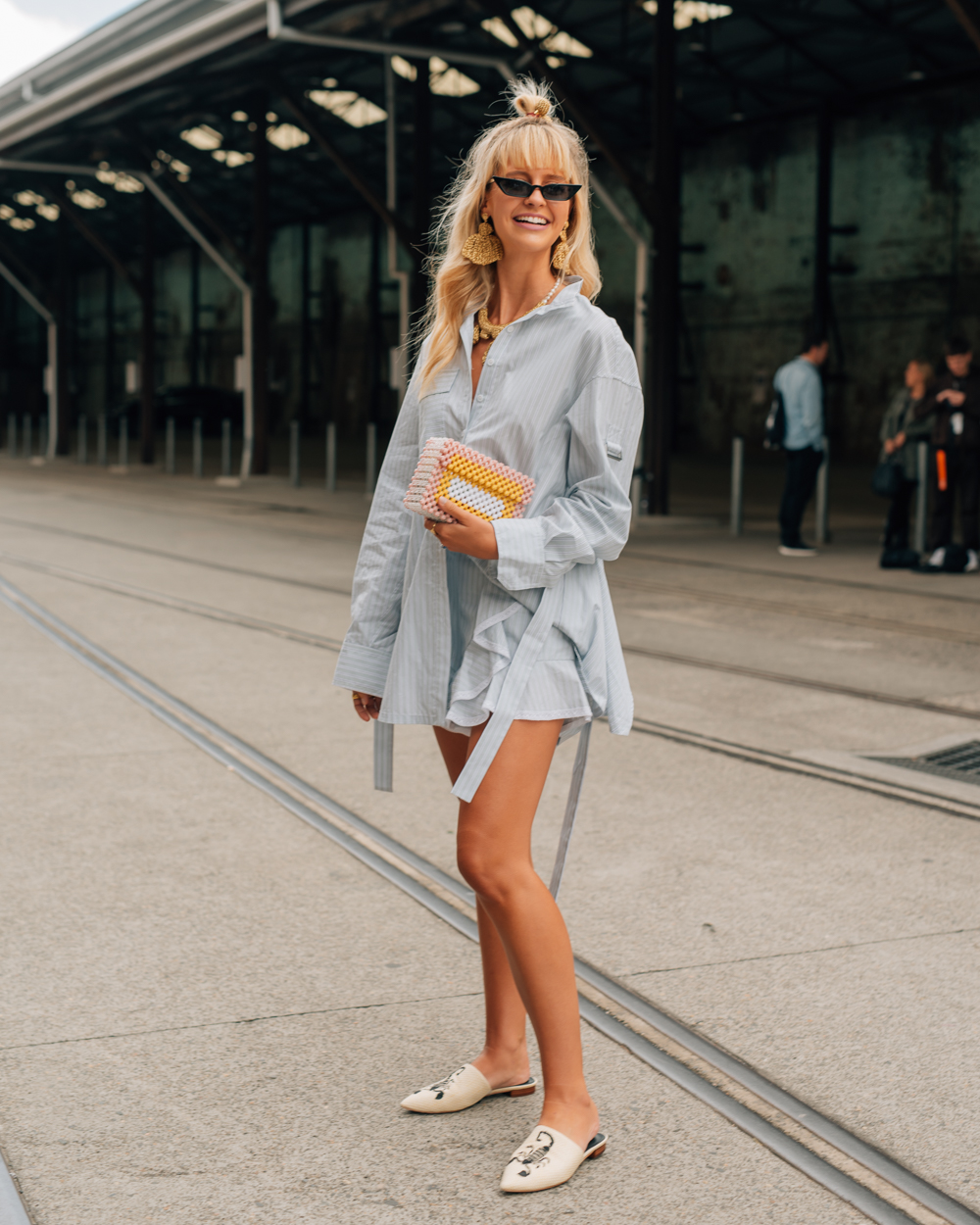 Sydney Street Style: Snaps From Mercedes-Benz Fashion WeekAustralia foto