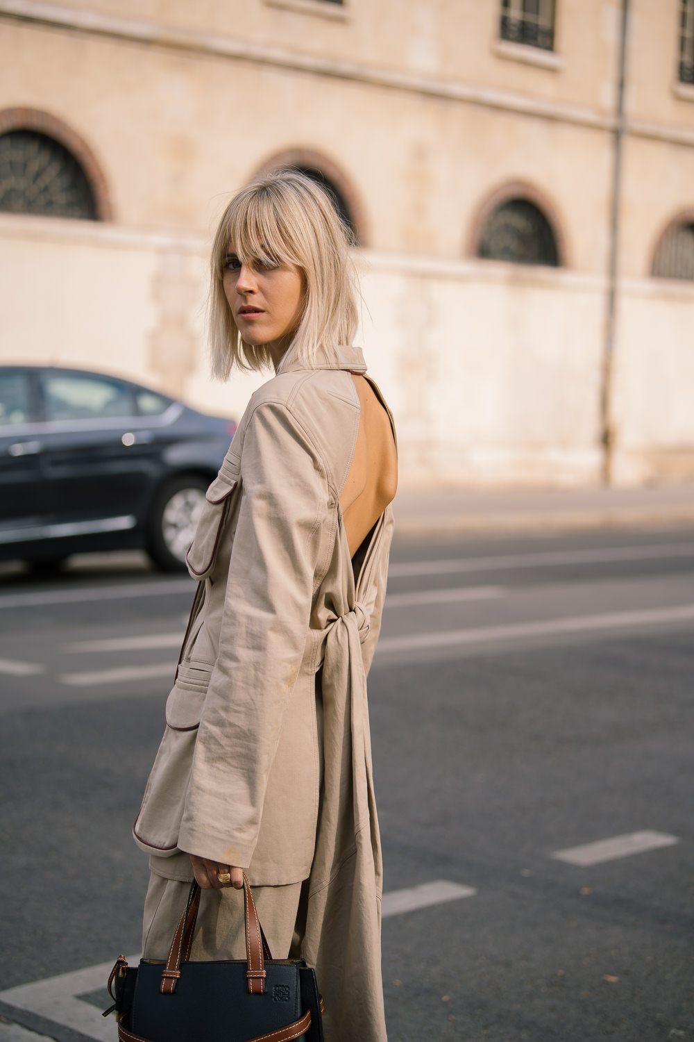 Fashion On Street: Paris Fashion Week 2018 Loewe Street Style With The