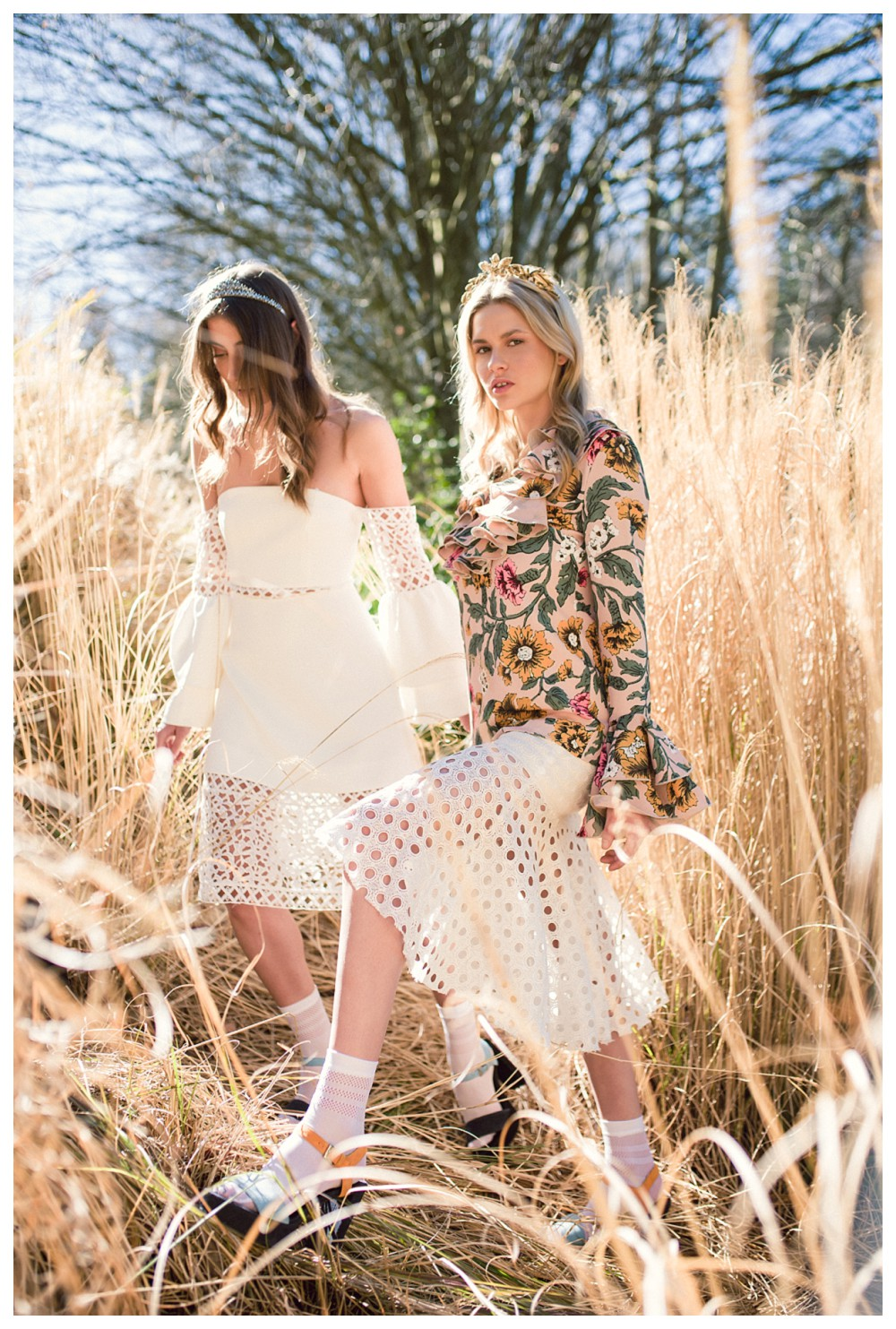 FASHION EDITORIAL: Spring Racing outfits ft. Voodoo Hosiery